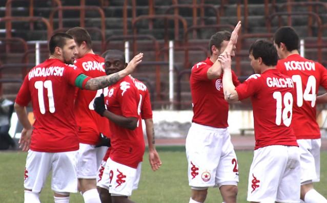 Стойчо тръгна с 3:1 срещу Калиакра, първа победа за ЦСКА през пролетта