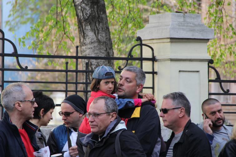 протест журналисти