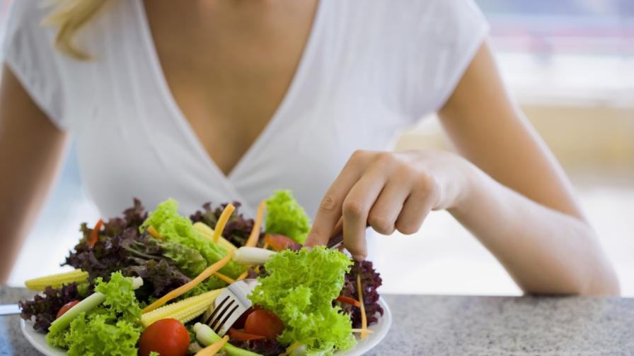 Отслабването не зависи от големината на порциите