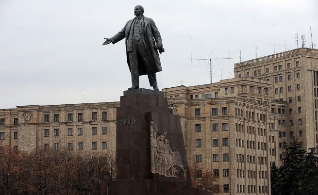 Паметникът на Ленин в Харков