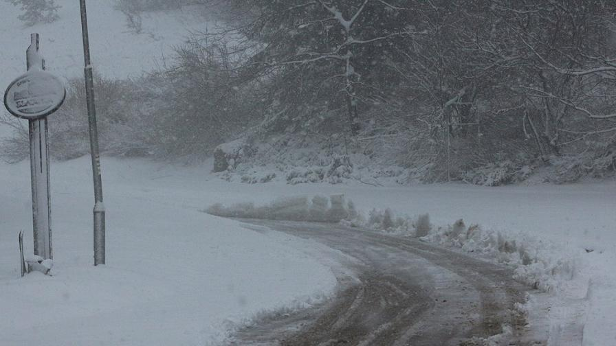 20 см сняг в Югоизточна Турция