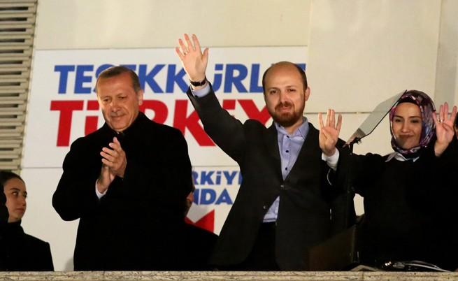 Над 100 млн. долара дарения в благотворителна организация на сина на Ердоган