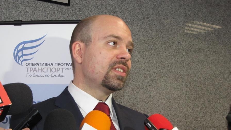 Заместник-министърът на транспорта Петър Киров