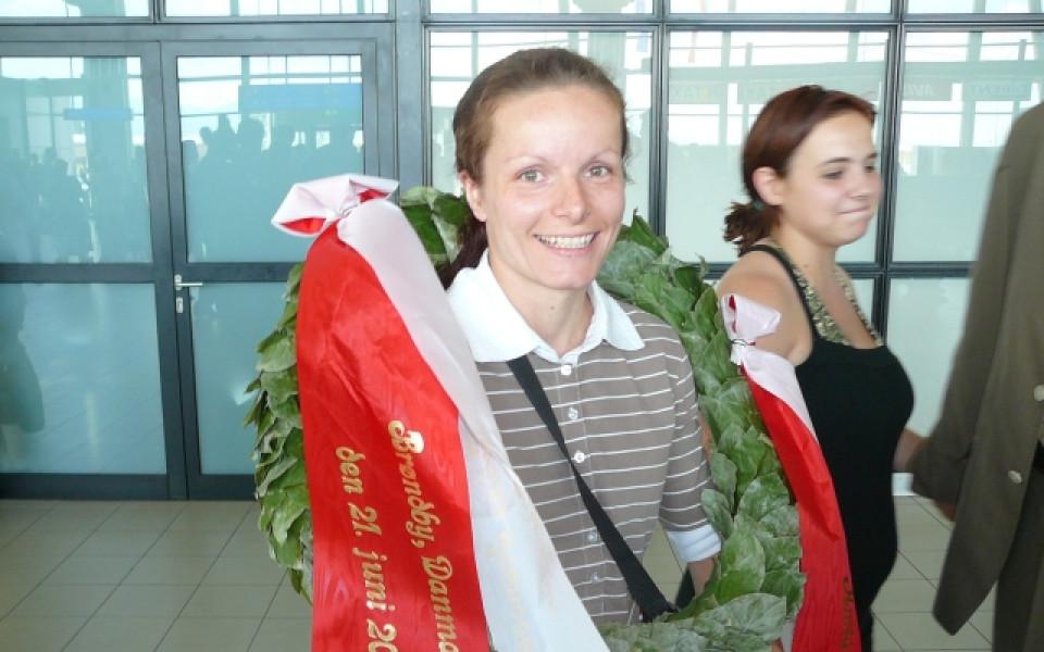 Галина се върна с лавров венец