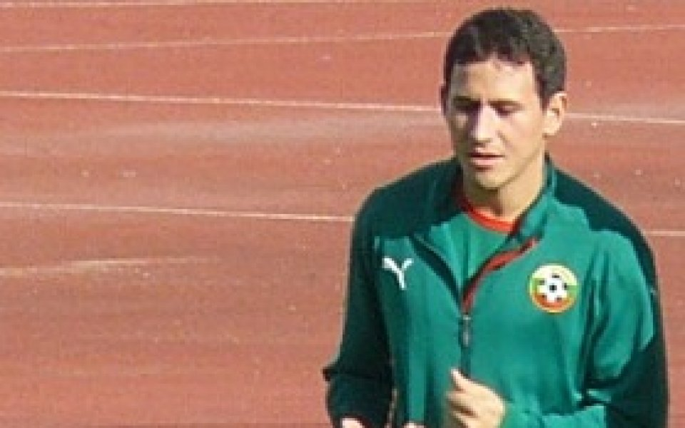 Живко Миланов отпада за мача с Кипър