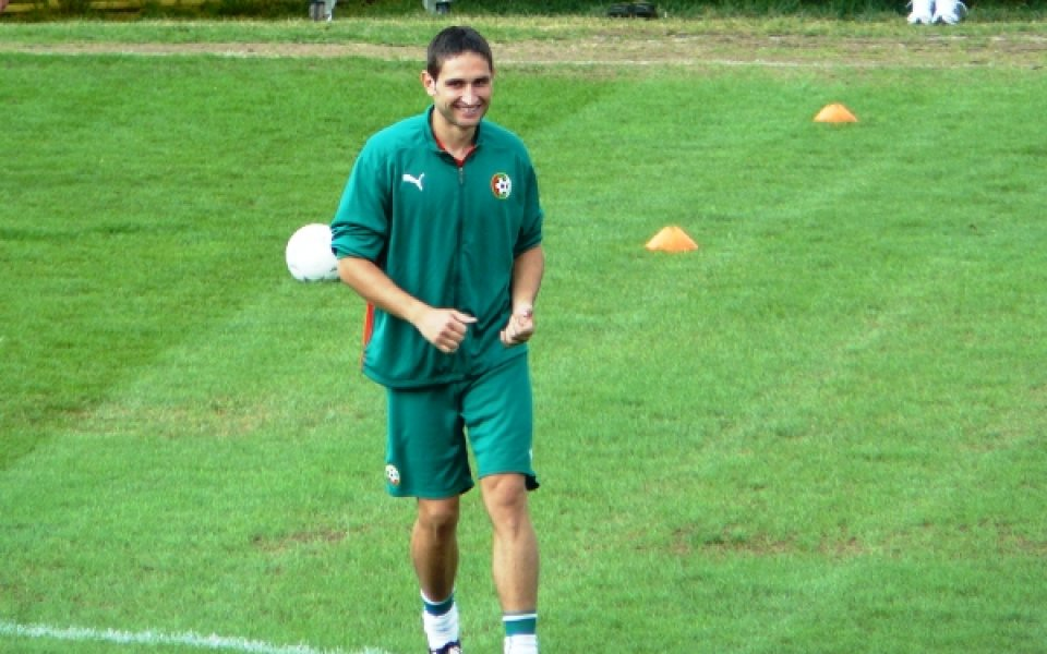 Сашо Тунчев: Не съм готов за 90 минути, но знам, че се разчита на мен