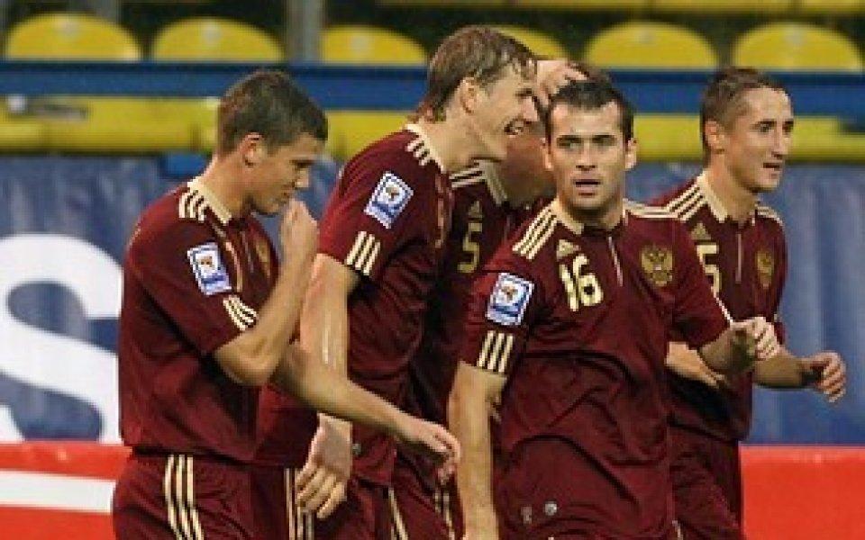 Русия очаквано победи Лихтенщайн