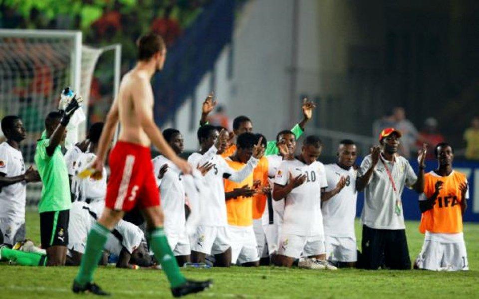 Бразилия - Гана е финалът на Световното за юноши