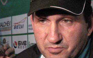 Треньорът на Спартак Варна е доволен от играта на футболистите си