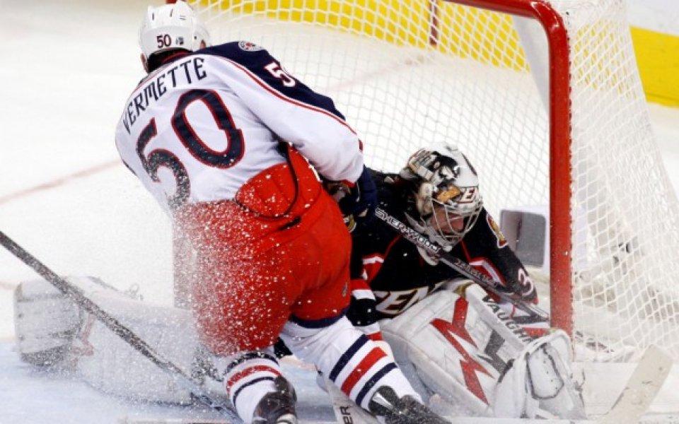 Отава и Ванкувър постигнаха победи в НХЛ