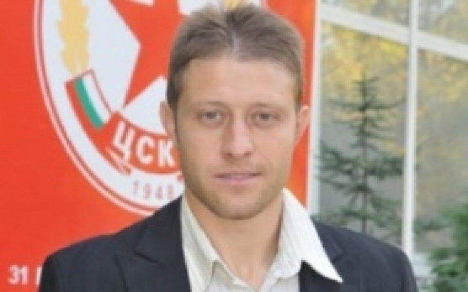 Владо Манчев с първа тренировка в Турция