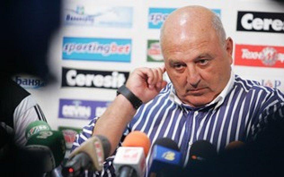 Венци Стефанов: Вярвам в нашите футболисти