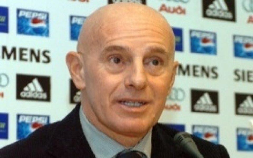 Ариго Саки: Титлата е за Рома