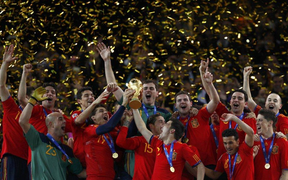 Испания завладя планетата, дочака своята първа световна титла (ВИДЕО)
