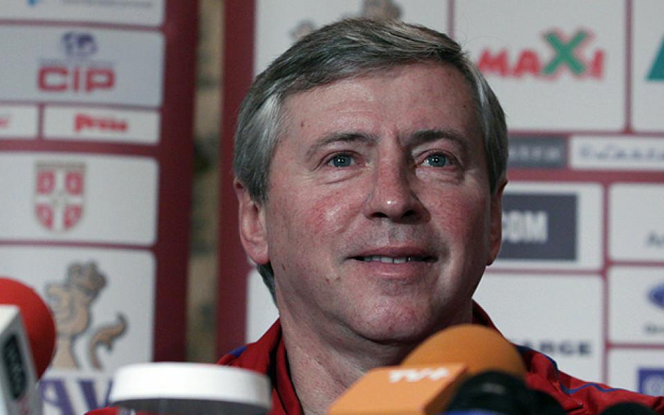 Треньорът на Сърбия отличи четирима българи