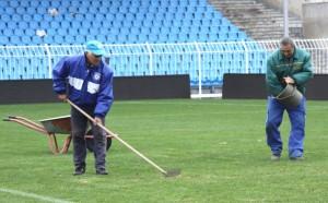 Пуснаха тока, а скоро и водата на стадион Черноморец