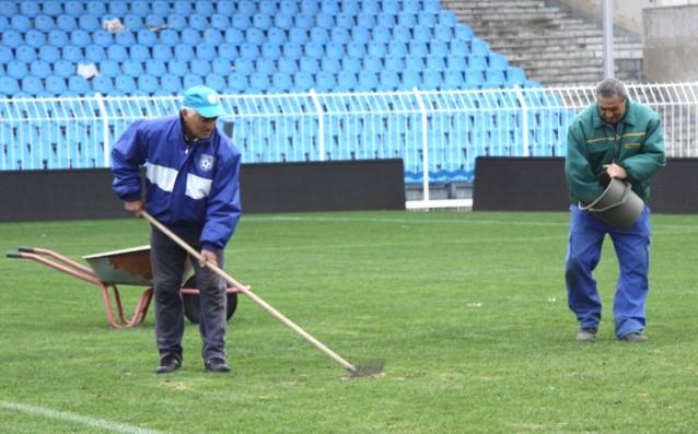 Стадион Черноморец<strong> източник: ПСФК Черноморец Бургас</strong>