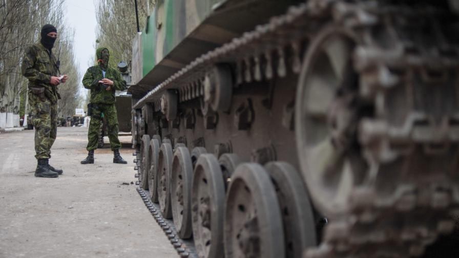 Петима убити при нападение в Славянск
