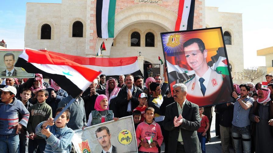 На 3 юни: За първи път Башар Асад ще има съперници на изборите