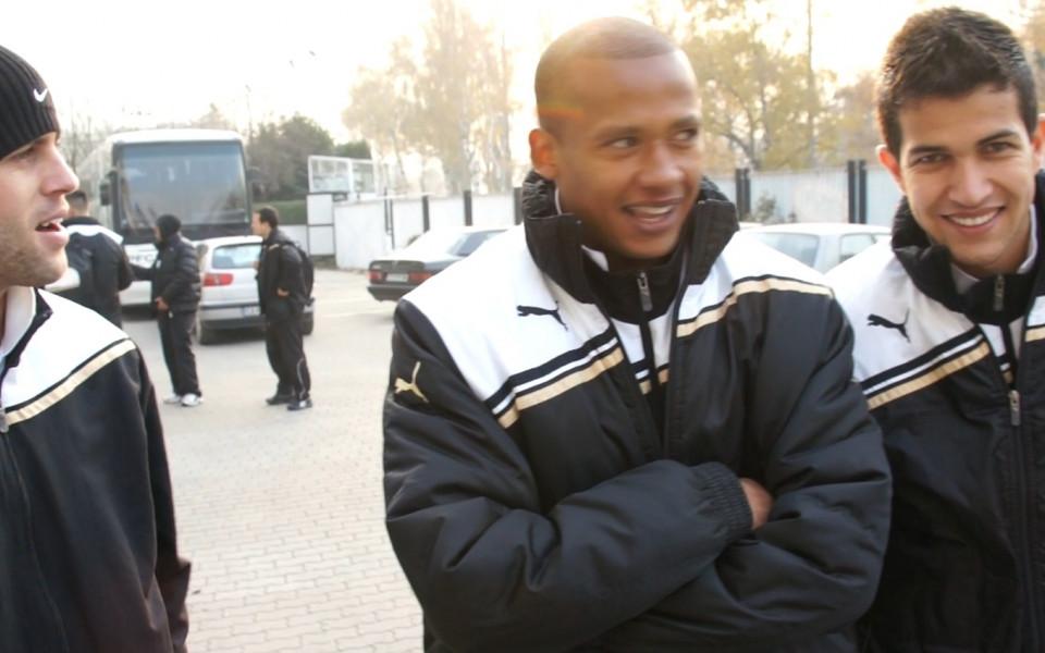 Бразилците от Славия  предизвикаха сънародниците си от ЦСКА преди утрешният мач