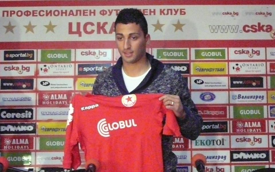 Иван Боладо взе номер 9 в ЦСКА и каза: Готов съм да играя