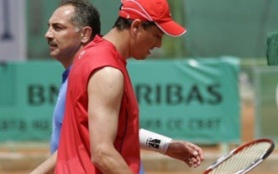 Любо Пенев открива и играе на ВИП Тенис