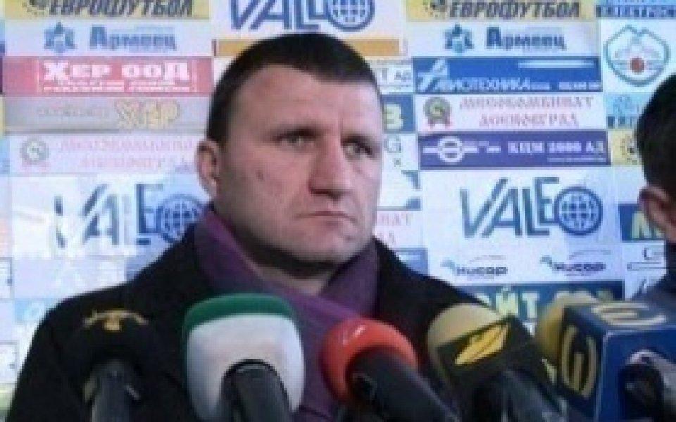 Ангелов: Искам да имам мениджърски функции