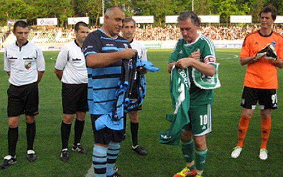 Премиерът даде за пример Кирил Домусчиев на другите футболни президенти