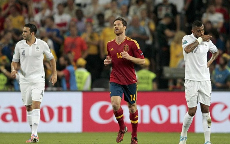 Очаквано: Избраха Шаби Алонсо за играч на мача Испания - Франция