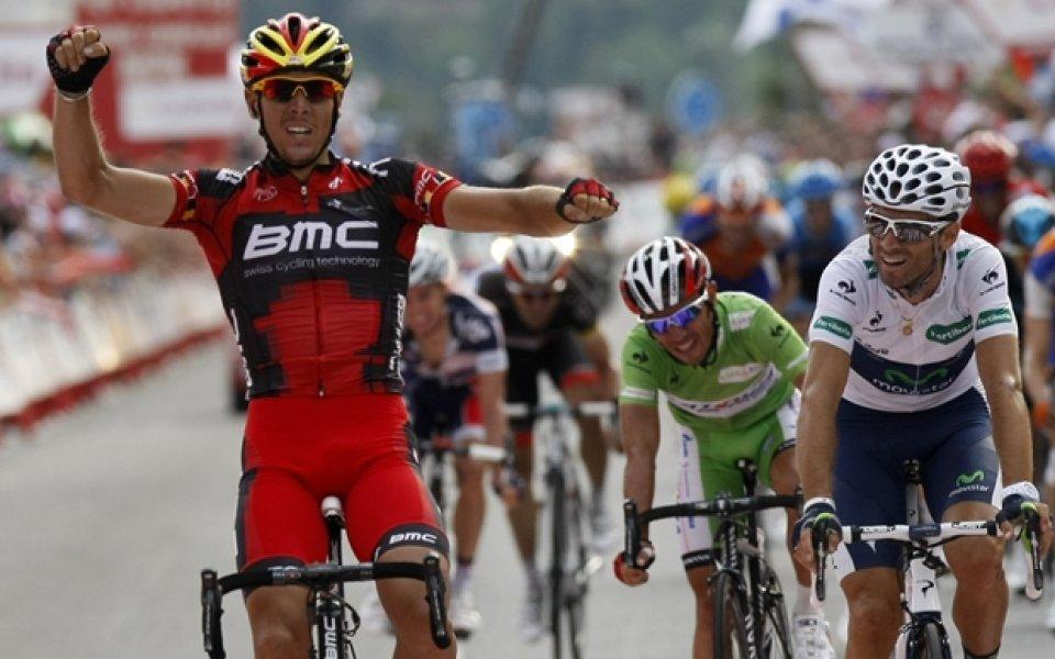Филип Жилбер спечели 12-ия етап от Обиколката на Испания