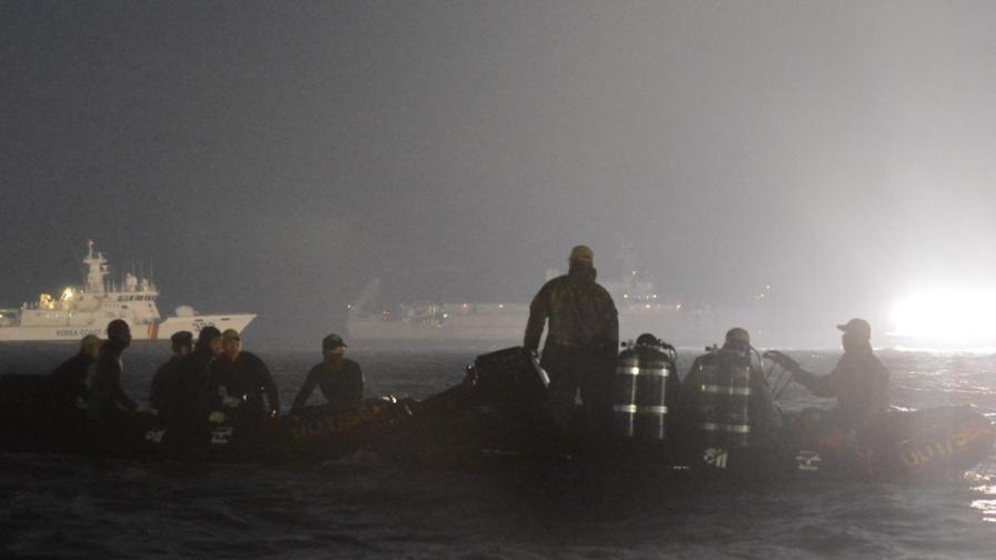 Жертвите от потъналия ферибот достигнаха 150 души