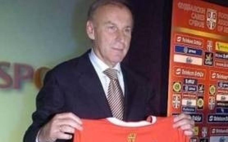 Джаич ще ръководи Цървена звезда до края на годината