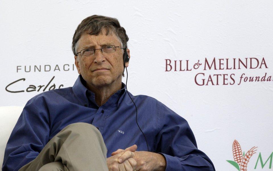 Бил Гейтс: Светът ще става по-добър - Още спорт - Зона без спорт - Gong.bg