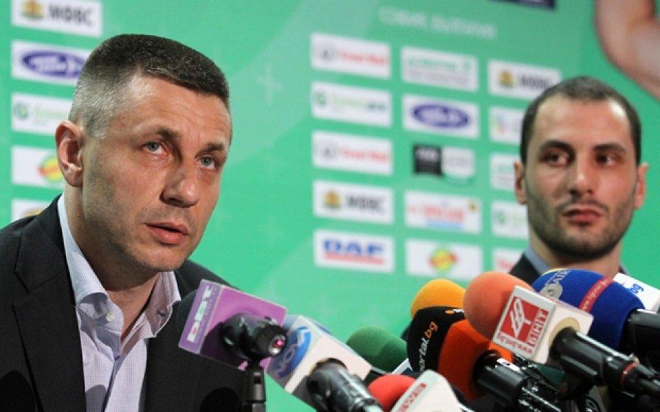 Радо Стойчев: Пламен Константинов е най-добрият избор