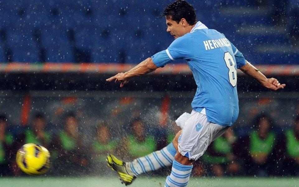 c71ae81a88f Лацио предлага нов договор на Ернанес - Футбол свят - Италия - Gong.bg