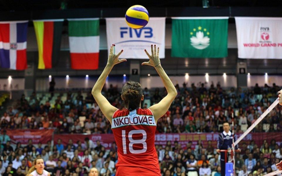 Специално внимание към българска волейболистка