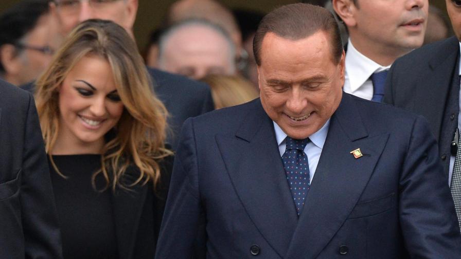 Силвио Берлускони може би ще става баща на 77 години