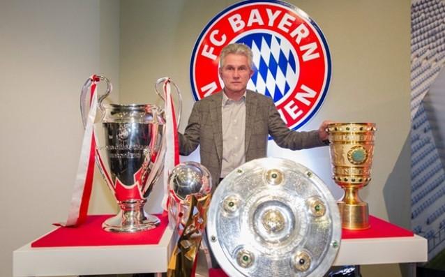 Юп Хайнкес бе обявен за Най-добър клубен треньор за 2013 източник: БГНЕС