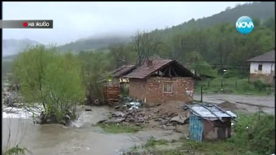 След дъжда бедстват села в Северозападна България