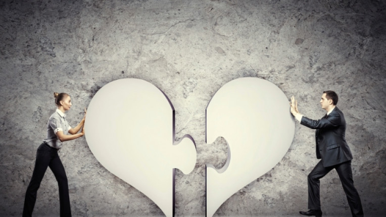 пъзел връзка двойка любов