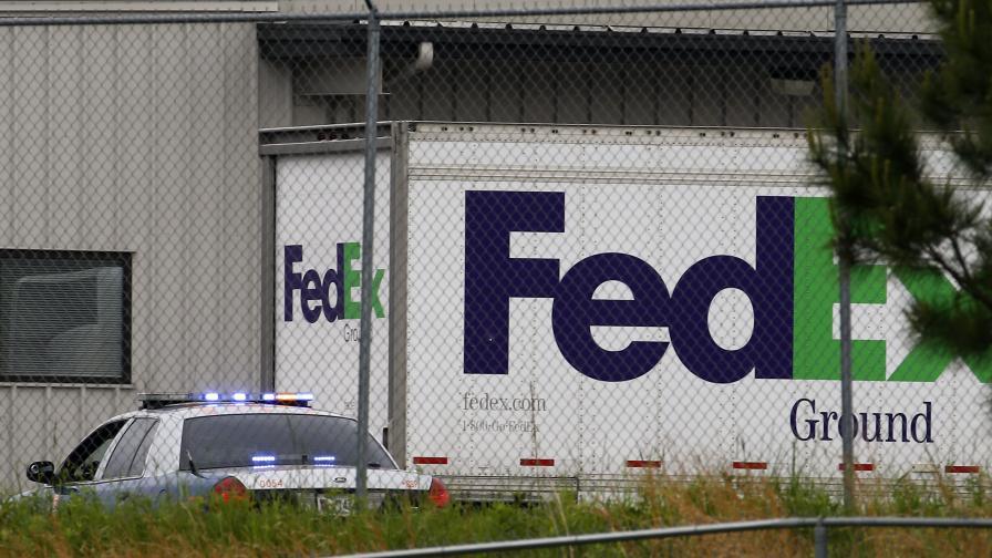 """Шестима ранени при стрелба в сграда на """"ФедЕкс"""" на летище в Атланта"""