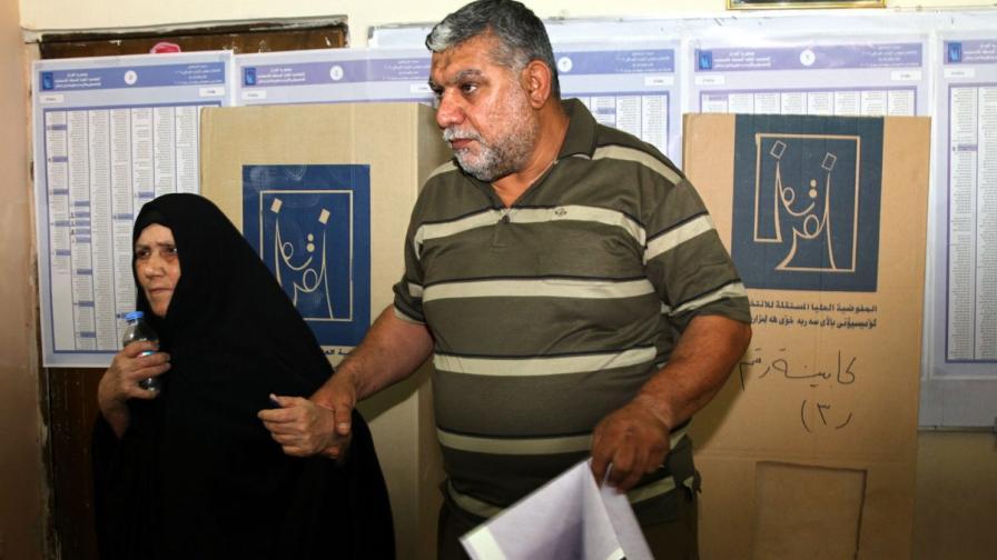 Изборите в Ирак започнаха в обстановка на насилие