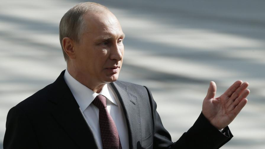 Руският президент Владимир Путин