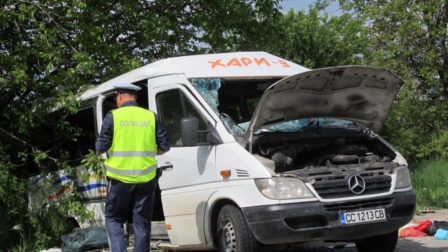 5 от ранените пътници при катастрофата край Русе остават в болница