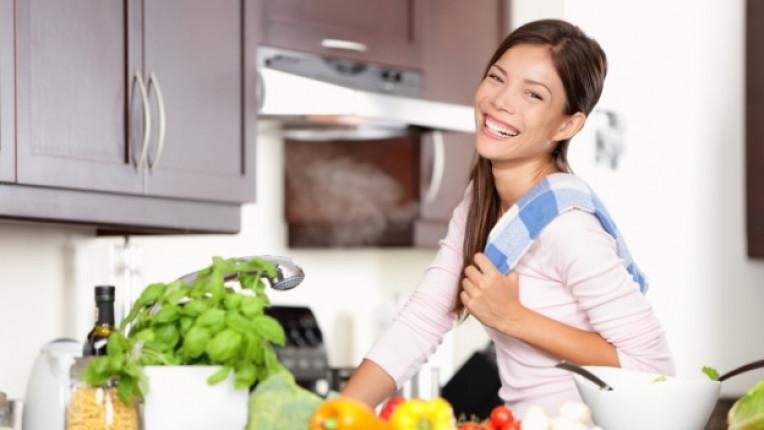кухня храна мъж дом жена готвене
