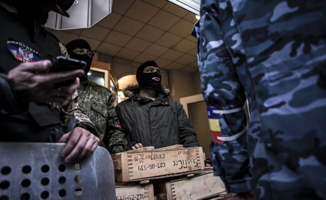 Сблъсъци пред полицията в Одеса