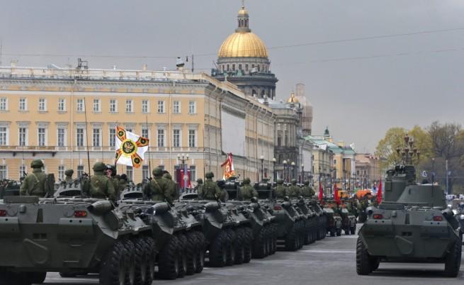 Репетициите за парада в Москва