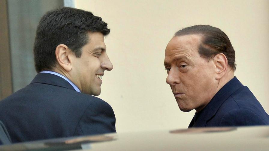 Силвио Берлускони пристига в старческия дом