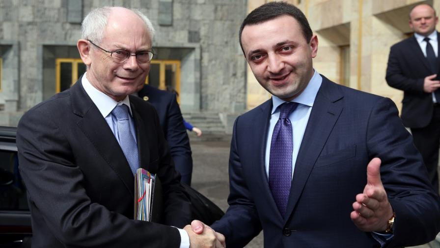 Херман ван Ромпой и Иракли Гарибашвили