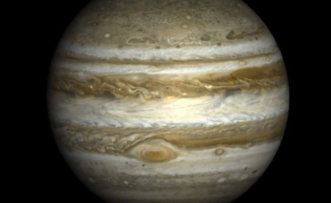 Вижте първите снимки на Юпитер, които изпрати